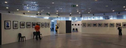 Inside the exhibition