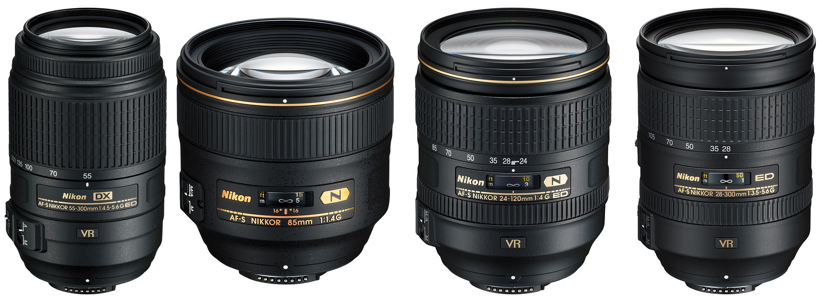 Fullsize Of Nikon D3200 Lenses