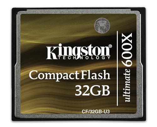 Kingston Digital Compact Flash Ultimate 600x 32GB