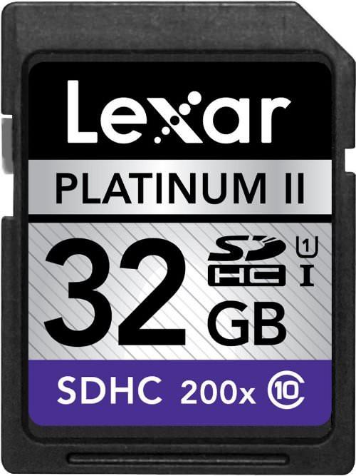 Lexar Premium 200x 32GB SDHC UHS-I