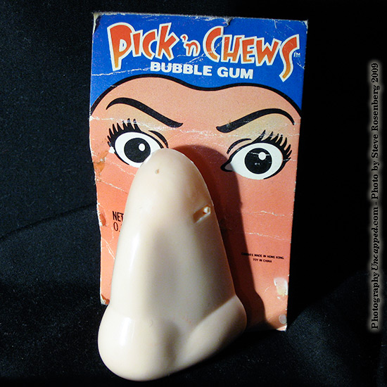 Pick 'n Chews Nose Novelty Bubble Gum