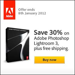 lightroom 3 30 per cent off free shipping
