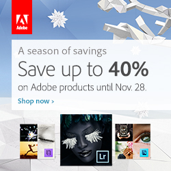 Adobe Black Friday - Cyber Monday Sales on NOW