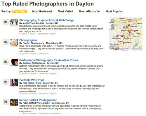Thumbtack Peter DeMott Photography top rated photographer in Dayton