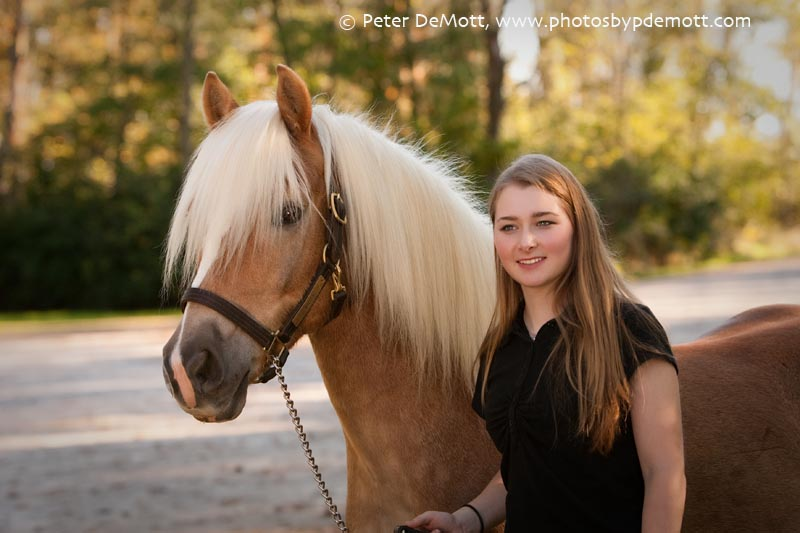 RR3D9986FB Dana and her haflinger (Dayton senior portrait photographer)