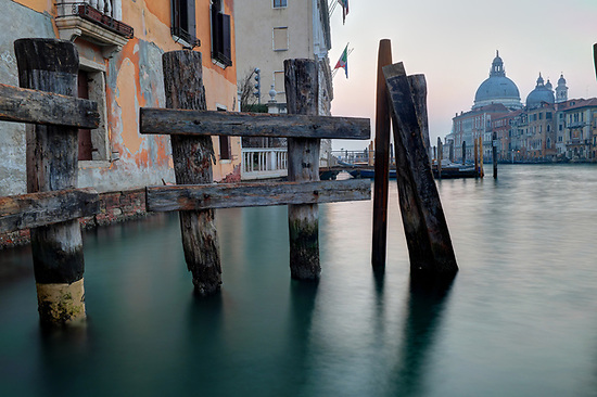 Morning breaks over Santa Maria della Salute and the Grand Canal, Venice, Italy (Brad Mitchell Photography)