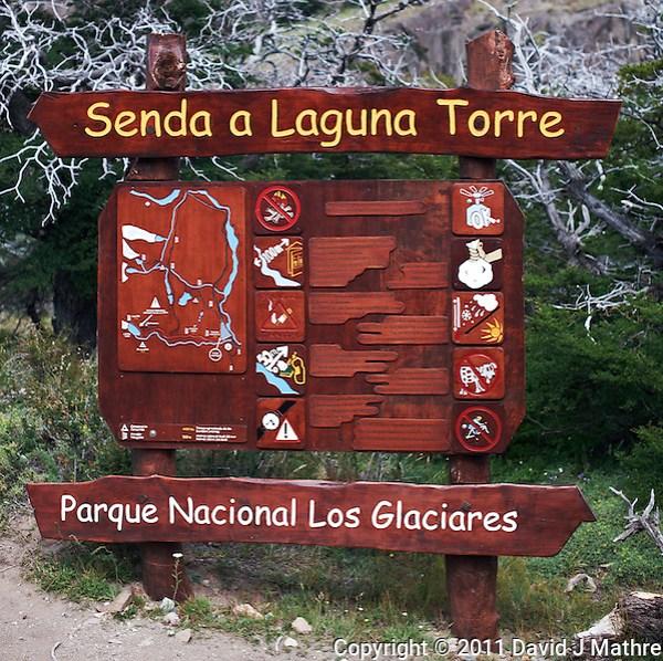Senda a  Laguna Torre. Image taken with a Nikon D3x and 50 mm f/1.4G lens (ISO 100, f/4, 1/60 sec). (David J Mathre)