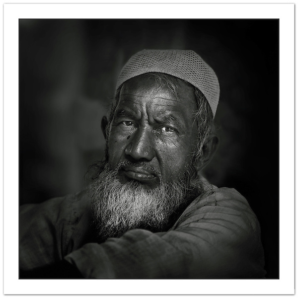 Street portrait, Old Delhi, India (© Ian Mylam)