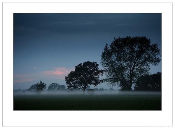Mist at Dusk, Island of Funen, Denmark (©2012 Ian Mylam)