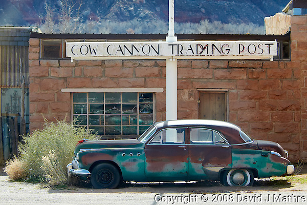 Cow Canyon Trading Post. Image taken with a Nikon D300 and 80-400 mm VR lens (ISO 200, 80 mm, f/5.6, 1/640 sec). (David J Mathre)