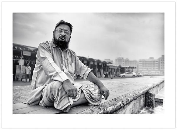 Pakistani Fish Trader - Dubai, U.A.E., 2013 (© Ian Mylam)