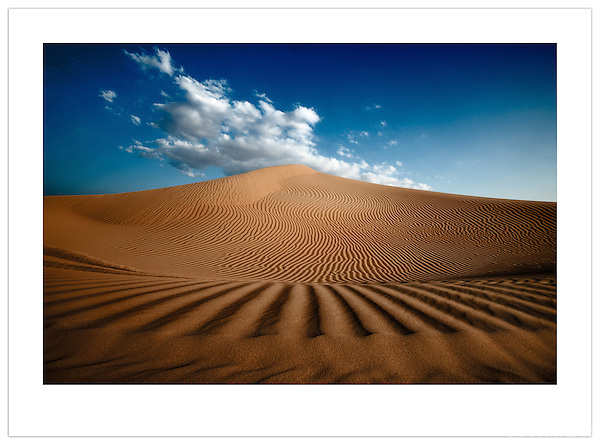 Sand dunes in the Arabian Desert, U.A.E. (©2012 Ian Mylam)