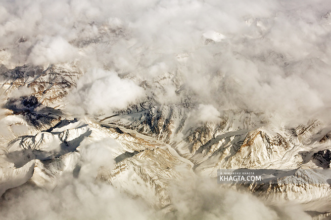 The Great Himalayan Mountain Range at Ladakh in Winters (Himanshu Khagta)