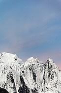 Dawn sky over Mount Index, Central Washington Cascade Mountains, Snohomish County, Washington, USA (Copyright Brad Mitchell Photography.9601 Wall St.Snohomish, WA 98296.USA.425-418-7279.brad@bradmitchellphoto.com)
