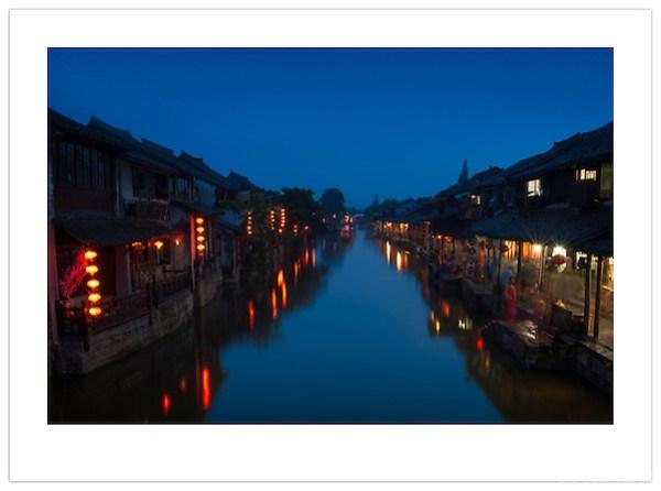 Dusk in Xitang, Zhejiang, China (Ian Mylam/© Ian Mylam (www.ianmylam.com))