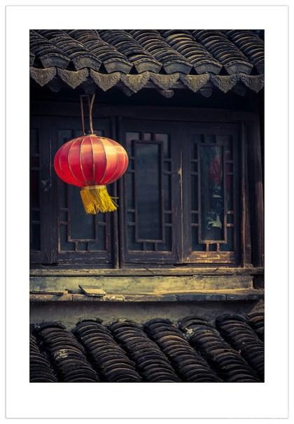 A Lantern in Xitang, Zhejiang, China (Ian Mylam/© Ian Mylam (www.ianmylam.com))