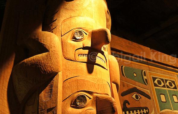 Tlingit Totem Pole in Alaska