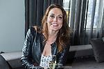 NLD/Amsterdam/20140418 - Castpresentatie film de Ontsnapping, schrijfster Heleen van Royen (Edwin Janssen/foto: Anneke Janssen)