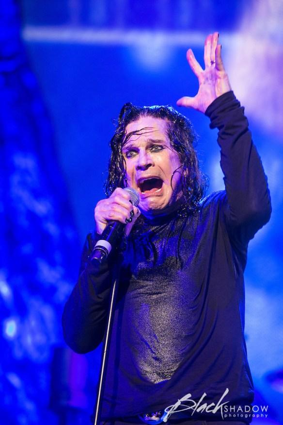 Black Sabbath performing at Rod Laver Arena, Melbourne, 29 April 2013 (Richard Sharman)