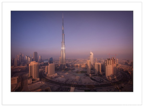 Burj Khalifa and the Dubai Skyline, 2012  (© Ian Mylam)