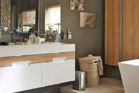 meuble colonne salle de bain leroy merlin