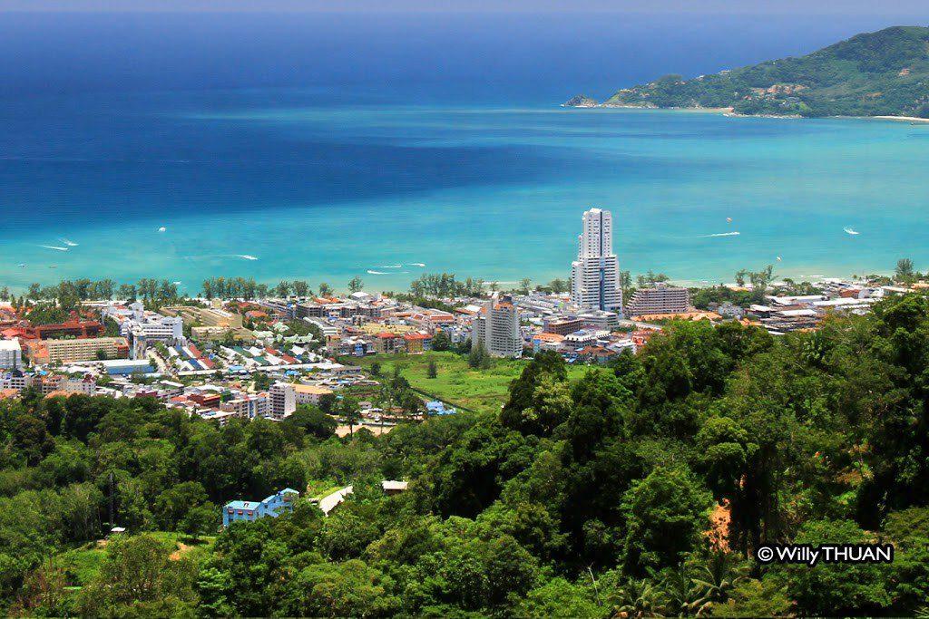 Radar Hill Viewpoint in Phuket