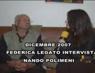 San Ferdinando, dicembre 2007, intervista a Nando Polimeni