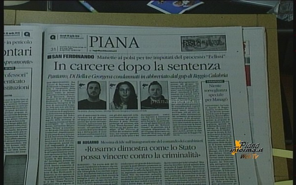 Rassegna Stampa 28 Aprile 2016