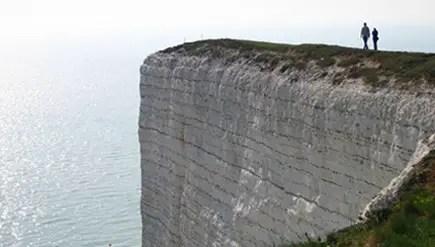 huge cliff