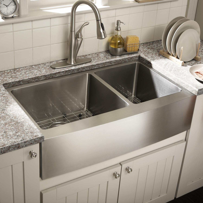 modern farmhouse kitchen sink ideas your home farm kitchen sink Contemporary Stainless Steel Farmhouse Sink For Modern Home