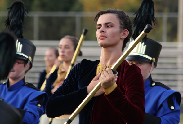 """Mt Pleasant High School Marching Band perform """"Liberty"""" at Providence Cup 2013."""