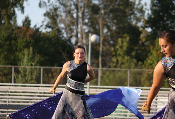 """South Pointe High School Marching Band performs """"Music of the Night"""" at Providence Cup 2013."""