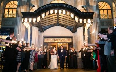 Allyson + Brodie | Mayo Hotel Wedding | Tulsa, Oklahoma