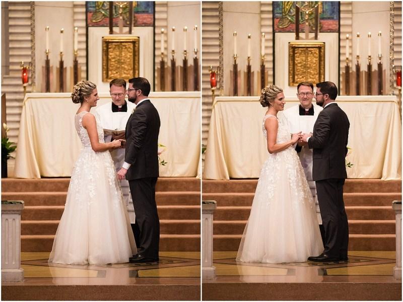 Christ the King Parish Wedding The Bond Reception Tulsa Oklahoma Picturesque Photos by Amanda_0050