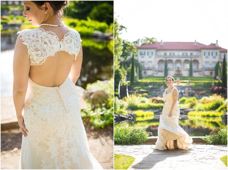 Philbrook Museum of Art Wedding Bridal Picturesque Photos by Amanda_0006