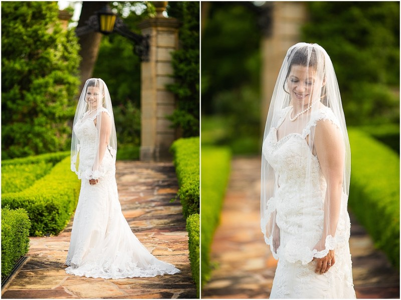 Philbrook Museum of Art Wedding Bridal Picturesque Photos by Amanda_0014