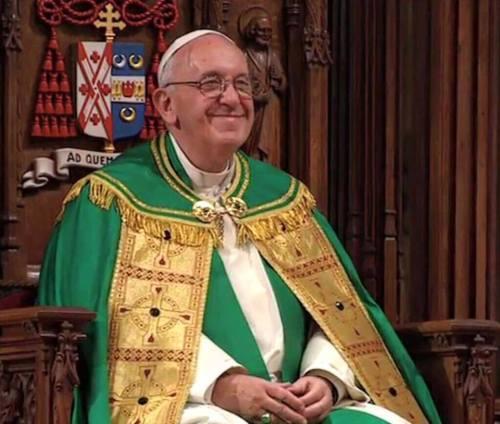 happy Francis