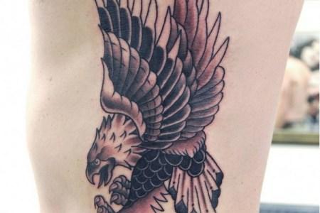 bald eagle tattoo designs
