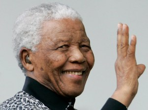 South Africa's former President Nelson Mandela, London, 2007.
