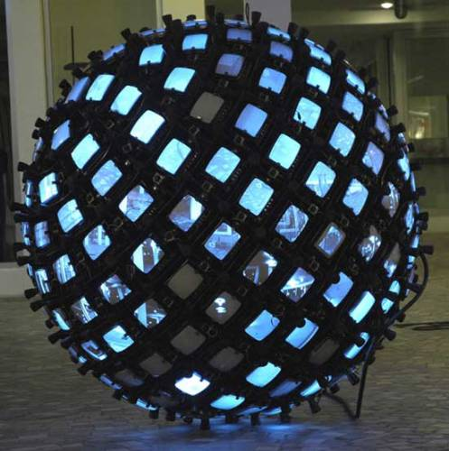 Invisible Sphere (215 Points of View)