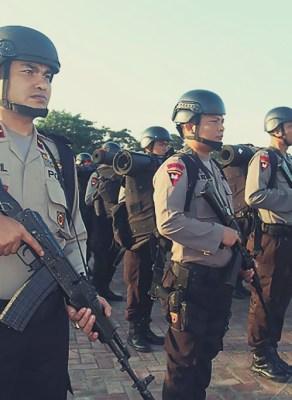 Pasukan BKO di Aceh [Foto Tribratanews Aceh]