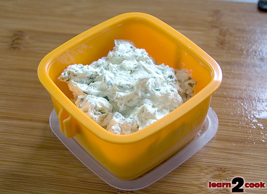 Seasoned Goat Cheese