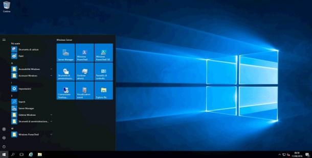 Microsoft Windows Server 2016 Datacenter 64 Bit - Novembre 2016 - Ita
