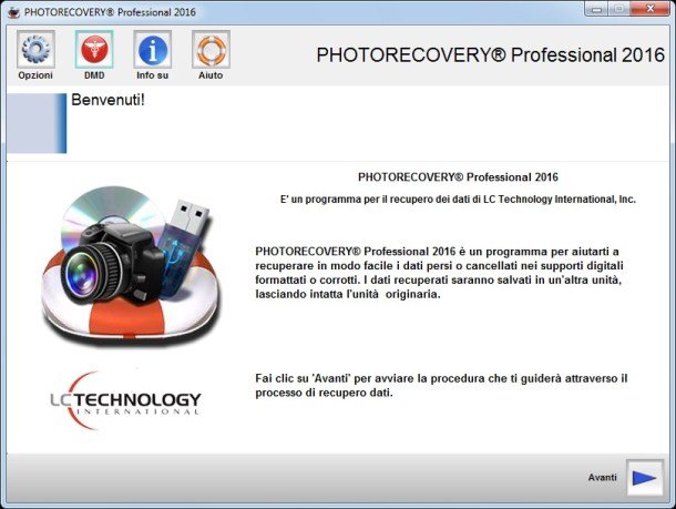 LC Technology PHOTORECOVERY 2016 Professional v5.1.4.7 - Ita