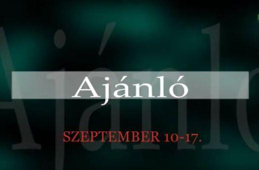 Műsorajánló 2014. szeptember 10-17.