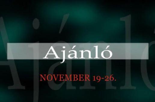Műsorajánló 2014. november 19-26.