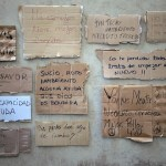 Del cartel al papel: cómo su letra les dio un techo