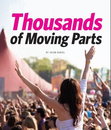 Festivals Cover