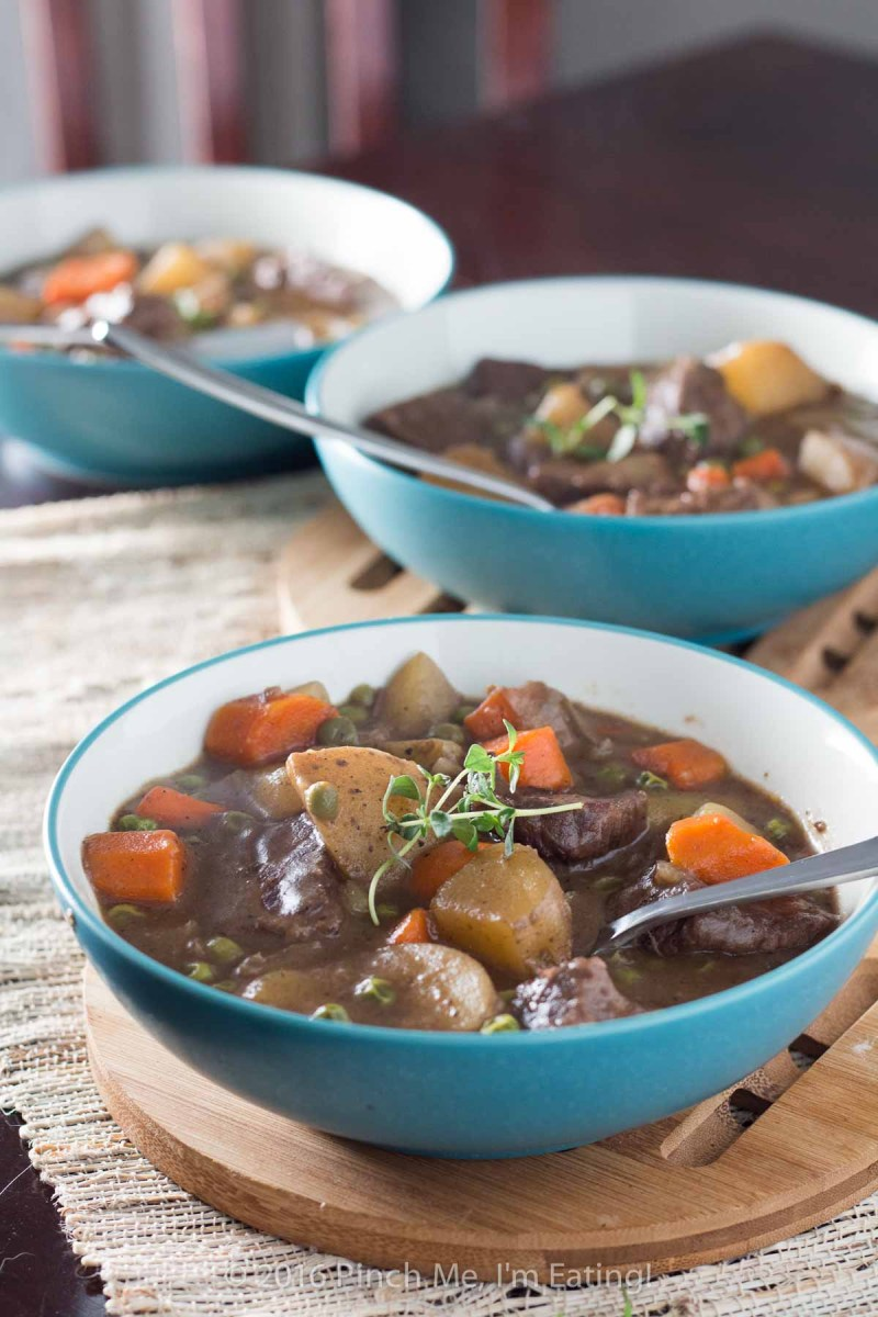 Stovetop Beef Stew with Red Wine