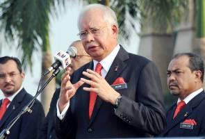 NAJIB: 'Pengenalan GST, walaupun barang naik sikit, telah memberi asas kekuatan kepada hasil revenue base yang lebih besar kepada kerajaan dan negara kita'.